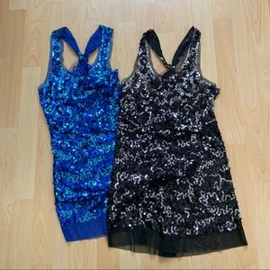 FREE W PURCHASE Sequin Tank Tops